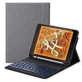 iPad Mini 5 Tastatur,Mini 5 Tastatur Flip Schützend Case,[Schlafen/Wachen Smart] [Stifthalter] [PU...