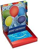 Amazon.de Geschenkkarte in Geschenkbox - 100 EUR (Geburtstagsüberraschung)
