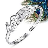 Pfau Armband Silber Prinzessin Öffnet Armband, Gibt Mamas Freundin Silberschmuck Geschenk