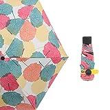 Vinyl-Sonnenschirm, Mini-Ultraleichtschirm, Sonnen- und UV-Regenschirm, Reiseregenschirm,...