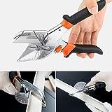 45 bis 90 Grad Kantenschere Gehrungsschere Drahtschneider Handschere Multifunktions PVC PE...
