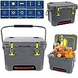 FJKLL Kühlbox-Set Passive Kühlbox groß 20 Liter 10 Tage lang gekühlt Camping Kühltaschen...