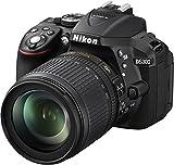 Nikon D5300 SLR-Digitalkamera (24,2 Megapixel, 8,1cm (3,2 Zoll) LCD-Display, Full HD, HDMI, WiFi,...