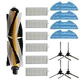 Nrpfell Seiten Bürsten Filter Bürste Lappen für Cloth Vslam-811Gb Kehrmaschine Werkzeuge Teile