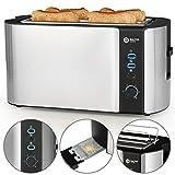 Balter Toaster 4 Scheiben  Brötchenaufsatz  Auftaufunktion  Brotzentrierung  Krümelschublade...