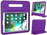 Simplicity Click Case für iPad 9,7 Zoll 2018/2017 – stoßfeste Hülle für Kinder mit Griff und...