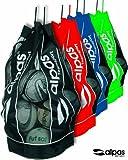 Ballsack fr 10-12 Blle / Balltasche von alpas / 4 Farben lieferbar *NEU* (Schwarz)
