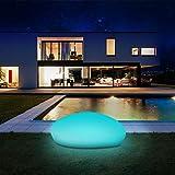 Solarlampen fr auen, infray Solarleuchten fr auen, Solar Gartenleuchten 40cm Solarkugel Garten mit 9...