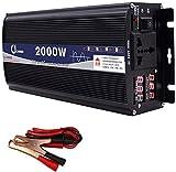 YHDQ Car Power Inverter 3000W reinen Sinus-Wellen-Inverter DC 48V / 60V bis 220V AC Power Inverter...