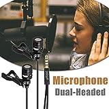foyar Lavalier-Handy-Mikrofon, singen die nationalen K-Song-Mikrofon, Doppel-Live-Sendung...