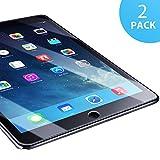 SUERW Panzerglasfolie Kompatibel mit iPad Air 1/ Air 2/ iPad Pro 9.7 - 2 Stück Schutzfolie...