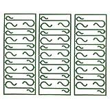 VOSAREA 500 Stück S-förmige Hängehaken Weihnachtsschmuck Haken Weihnachtsbaum Haken Dekoration