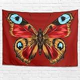 Dofeely Butterfly Animal Tapisserie Wand aufhängen Bed Sheet Comforter, Home Dekorationen für...