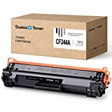 SWISS TONER 1 Schwarz CF244A Tonerkartusche Kompatibel für HP 44A CF244A für HP Laserjet Pro M15a...