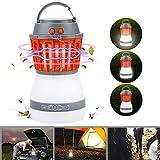 Bawoo Campinglampe UV Licht Insektenvernichter Mckenkiller Camping Lantern IP67 wasserdicht tragbar...