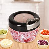 Küchenreibe CS-PS manuelle Nahrungsmittelzerhacker Gemüse Zwiebel Shredder Fleisch Food Processor...