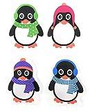 4er Set Taschenwrmer Pinguin (tolles Wichtelgeschenk) Handwrmer, Taschenheizkissen