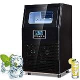 Kommerzielle Eismaschine, Intelligente KüHlmaschine, 40 Kg Eis Pro 24 Stunden, Led-Anzeige, 32...