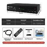 LOISK Kabelreceiver Hybrid fr digitales Kabelfernsehen inkl. HDMI Kabel Set: (DVB-T/T2...