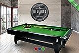 Billardtisch Pool Billard Tisch grün mit Zubehör robust 145 kg 7 ft schnelle Lieferung 2 Jahre...