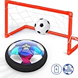 Ucradle Air Power Fußball Set Inkl. 2 Tore - 2019 Wiederaufladbar Hover Ball Indoor Football mit...