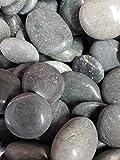 Der Naturstein Garten 5 kg polierte Kieselsteine 2,5-5 cm - Glanzkies Hot Stone Dekosteine...