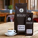 Dinzler Kaffeerösterei - Espresso 'Modena' | 1kg Espressobohnen | Espresso mit leicht süßer Note...