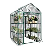 advancethy PVC Foliengewächshaus wasserdichte Gewächshaus Pflanzen Warmhouse Garden Furniture...