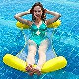 Erwachsene Wasserspielzeug Strand Meer Pool Mit Mesh Hängematte Faltbare Dual Rückenlehne...