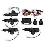 KKmoon Universal Auto Türschloss Keyless Entry System Zentralverriegelung Fernbedienung Kit mit 2...