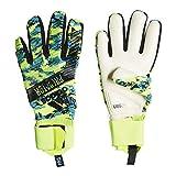 adidas Herren Predator Pro Manuel Neuer Torwarthandschuhe, solar Yellow/Bright Cyan/Black, 9.5