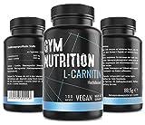 L- CARNITIN Kapseln hochdosiert 3000 L Carnitin - Extrem Beliebt bei Sportlern- Laborgeprft vegan...