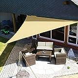 XIAO&WEICHENG Markise Wasserdichtes Schattensegel Anti-Uv-Sonnenschutznetz Outdoor Garten...