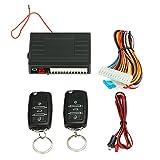 KKmoon Universal Auto Trschloss Keyless Entry System Zentralverriegelung Fernbedienung Kit mit 2...