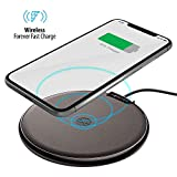 FOREVER Wireless Ladestation 10W Fast Wireless Ladegerät für iPhone 11/11 Pro/11 Pro Max/XS...