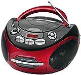 AEG SR 4353 Stereo-Kassetten-Radio mit CD/MP3, Toploading-CD-Player, Kassettendeck und Radio