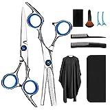 Haarschere, Scheren-Sets, Friseurscheren aus Edelstahl zum Ausdnnen und Strukturieren, Modellieren...