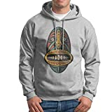 GHMJVHFG Hooded Sweatshirt for Men's Funny Funny African Mask Pullover Hoodie M