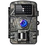 Victure Wildkamera Fotofalle mit Bewegungsmelder Nachtsicht 16MP 1080P Full HD Wildtierkamera mit...