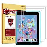 OMOTON [ 3 Stück Panzerglas Schutzfolie für iPad 2018 / iPad 2017 / iPad Air/iPad Pro 9.7 Mit...