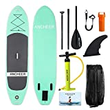 YUEBO 305cm Aufblasbares SUP Stand-up Paddel Board 15cm Dickes, iSUP Paddle Board mit...
