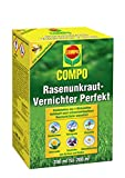 COMPO Rasen Unkrautvernichter Perfekt, Vernichtung von schwerbekmpfbaren Unkrutern, Konzentrat, 200...