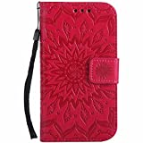 Dfly Galaxy S3 Hlle, Galaxy S3 Neo Hlle, Premium Slim PU Leder Mandala Blume prgung Muster Flip Hlle...