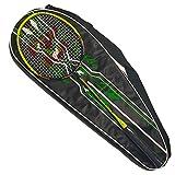 Mentohe Badmintonschlägerset, Carbon Fiber Professional Badmintonschläger, Badmintonschläger,...