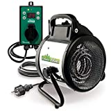 Bio Green Elektrogebläseheizung Palma, 2000 Watt, Digital-Thermostat,  IP X4 Spritzwassergeschützt...