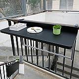 Folding table Balkon-Hängetisch, Klapptisch-Hängetisch, höhenverstellbarer Gartentisch für...