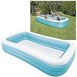 Intex Swim Center Family Pool - Kinder Aufstellpool - Planschbecken - 305 x 183 x 56 cm - Fr 6+...