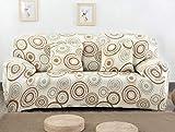 MSHZSH Sofa Überwürfe,Sofabezug Elastische Kombination Rutschfestes Wohnzimmer Sofa Bezugbezug...