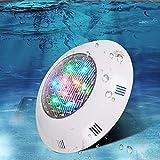 DLGGO LED Unterwasserscheinwerfer, ABS Aquarium Wand befestigten Flutlicht Tauch Teich Licht mit...