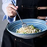 Liuwenan Pastaschalen im japanischen Stil aus Keramik Salatschalen Nudelschalen Reisschalen...